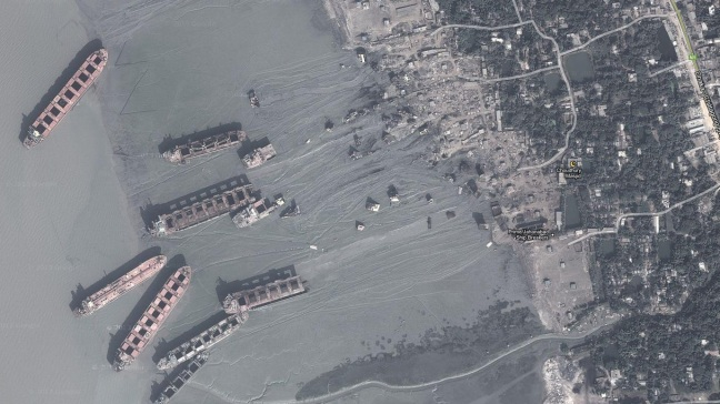ship-breaking-yards-google-earth